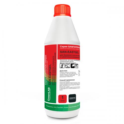 SAN - EASYGEL, 1 л, для бережной очистки поверхности от ржавчины и минеральных отложений