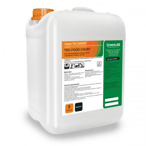 TEC - FOOD COURT, 5 л. для обезжиривания поверхностей и удаления стойких запахов