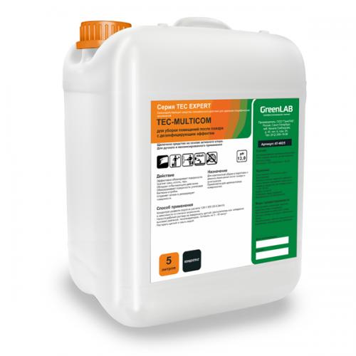 TEC - MULTICOM, 5 л. для уборки помещений после пожара с дезинфицирующим эффектом