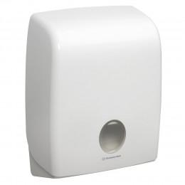 Диспенсер для листовых бумажных полотенец белый Kimberly Clark Professional Aquarius 6954