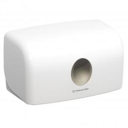 Диспенсер для листовых бумажных полотенец белый Kimberly Clark Professional Aquarius 6956