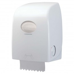 Диспенсер для рулонных бумажных полотенец белый Kimberly Clark Professional Aquarius No Touch 6959