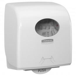 Диспенсер для рулонных бумажных полотенец белый Kimberly Clark Professional Aquarius Slimroll 7955