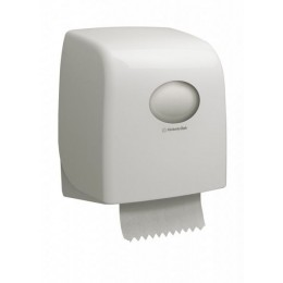 Диспенсер для рулонных бумажных полотенец белый Kimberly Clark Professional Aquarius Slimroll 6953