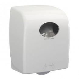 Диспенсер для рулонных бумажных полотенец белый Kimberly Clark Professional Aquarius 7375