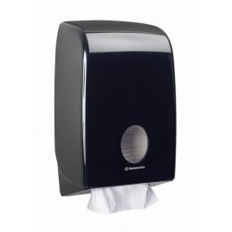 Диспенсер для листовых бумажных полотенец черный Kimberly Clark Professional Aquarius 7171