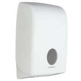 Диспенсер для листовых бумажных полотенец белый Kimberly Clark Professional Aquarius 6945