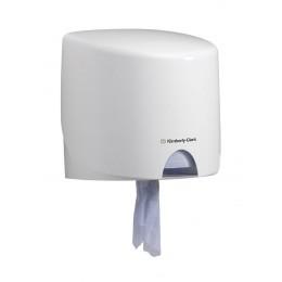 Диспенсер настенный для протирочного материала в рулонах белый Kimberly Clark Professional 7018