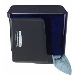 Диспенсер для протирочных салфеток WypAll  сложенных в четверо черный Kimberly Clark Professional 7969