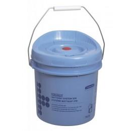 Диспенсер-ведро для протирочного материала в рулонах синий Kimberly Clark Professional Kimtech Wettask 7919