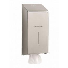 Диспенсер для листовой туалетной бумаги из нержавеющей стали Kimberly Clark Professional 8972