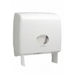 Диспенсер для туалетной бумаги в больших рулонах из пластика белый Kimberly Clark Professional Aquarius Jumbo Non-Stop 6991
