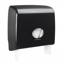 Диспенсер для туалетной бумаги в больших рулонах из пластика черный Kimberly Clark Professional Aquarius Jumbo Non-Stop 7184