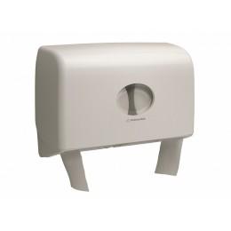 Диспенсер двойной для туалетной бумаги в больших рулонах из пластика белый Kimberly Clark Professional Aquarius Twin 6947
