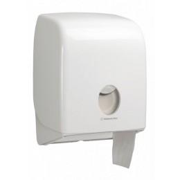 Диспенсер для туалетной бумаги в больших рулонах из пластика белый Kimberly Clark Professional Aquarius mini Jumbo 6958