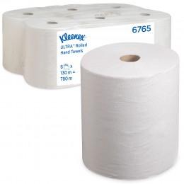 Полотенца бумажные в рулоне Kimberly Clark Scott XL 6765 2-слойные в рулоне по 130 метров