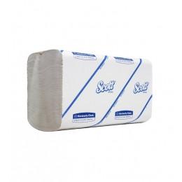 Полотенца бумажные листовые Kimberly Clark Scott Perfomance 6659 H2 Z-сложения 1-слойные в пачке по 110 листов