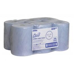 Полотенца бумажные в рулоне Kimberly Clark  Scott Slimroll 6658 1-слойные в рулонах по 165 метров