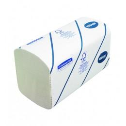Полотенца бумажные листовые Kimberly Clark Kleenex Ultra 6789 H2 Z-сложения 2-слойные в пачке по 186 листов
