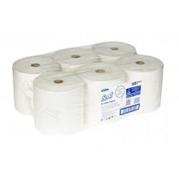 Полотенца бумажные в рулоне Kimberly Clark Scott XL 6687 1-слойные в рулоне по 354 метров
