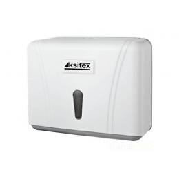 Диспенсер для листовых бумажных полотенец Ksitex TH-404W Белый