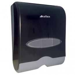 Диспенсер для листовых бумажных полотенец Ksitex TH-603HB Черный
