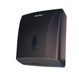 Диспенсер для листовых бумажных полотенец Ksitex TH-8228B Черный (Матовый)