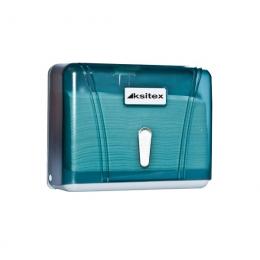 Диспенсер для листовых бумажных полотенец Ksitex TH-404G Зеленый