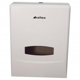 Диспенсер для для листовых полотенец Ksitex TH-8135A Белый