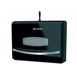 Диспенсер для для листовых полотенец Ksitex TH-8125B Черный
