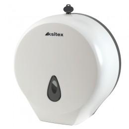 Диспенсер для туалетной бумаги Пластик ABS Белый Ksitex TH-8002A