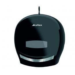 Диспенсер для туалетной бумаги Пластик ABS Черный Ksitex TH-8001B