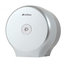 Диспенсер для туалетной бумаги Пластик ABS Серебро Ksitex TH-8127F