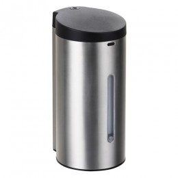 Диспенсер для жидкого мыла сенсорный из нержавеющей стали глянцевый Ksitex ASD-650S