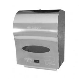 Диспенсер для рулонных бумажных полотенец из нержавеющей стали глянцевый автоматический Ksitex A1-21S