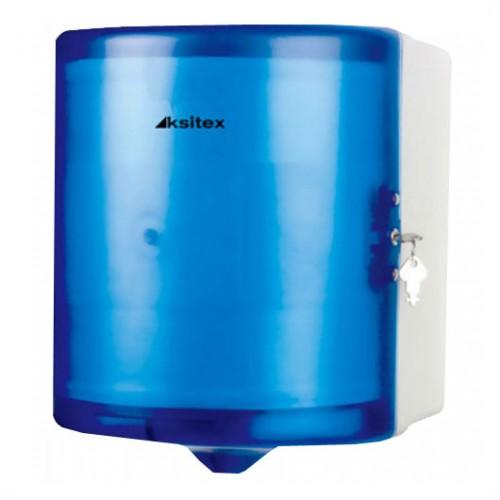 Диспенсер для рулонных бумажных полотенец Ksitex AC1-16A Синий