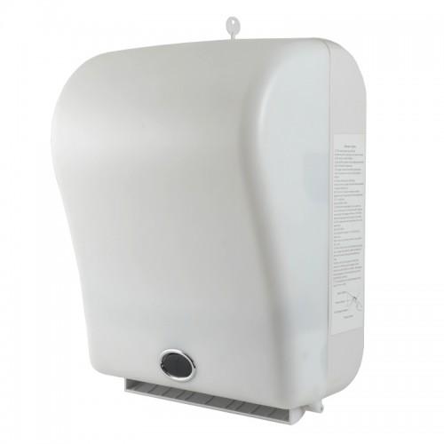Диспенсер для рулонных бумажных полотенец автоматический Ksitex X-3322W Белый