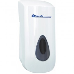 Диспенсер для мыла-пены Пластик ABS Merida Top DTS201 Белый(Серый)