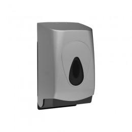 Диспенсер для туалетной бумаги Пластик ABS Merida Unique Silver Line BUS401 Хром (Матовый)