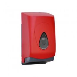 Диспенсер для туалетной бумаги Пластик ABS Merida Unique Red Line Matt BUR401 Красный (Матовый)