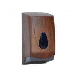 Держатель для туалетной бумаги Пластик ABS Merida Unique Eco Line Matt BUH427 Дерево орех (Матовый)