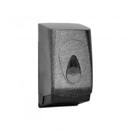 Диспенсер для туалетной бумаги Пластик ABS Merida Unique Glamour Black Line Matt BUH419