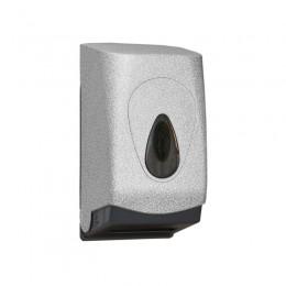 Диспенсер для туалетной бумаги Пластик ABS Merida Unique Glamour White Line Matt BUH417 Белый (Матовый)