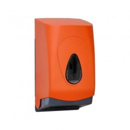 Диспенсер для туалетной бумаги Пластик ABS Merida Unique Orange Line Matt BUO401 Оранжевый