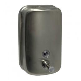 Диспенсер для жидкого мыла Нержавеющая сталь Merida Популярный DQM502 Хром (Матовый)