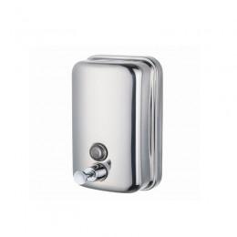Диспенсер для жидкого мыла Нержавеющая сталь Merida Популярный Mini DQP501 Хром (Блестящий)