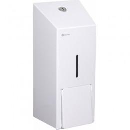 Диспенсер для жидкого мыла Нержавеющая сталь Merida Stella White Maxi DSB101 Белый