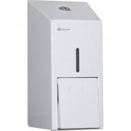 Диспенсер для жидкого мыла Нержавеющая сталь Merida Stella White Mini DSB102 Белый
