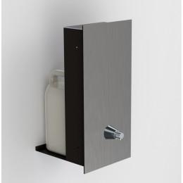 Дозатор для жидкого мыла монтируемый Конус Латунь Merida Dragon VandalProf DWM160 Хром (Матовый)