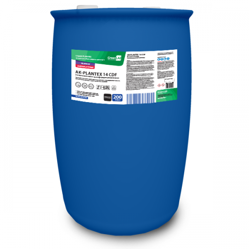 AK - PLANTEX 14 CDF, 200 л. Для щелочной мойки с дезинфицирующим действием